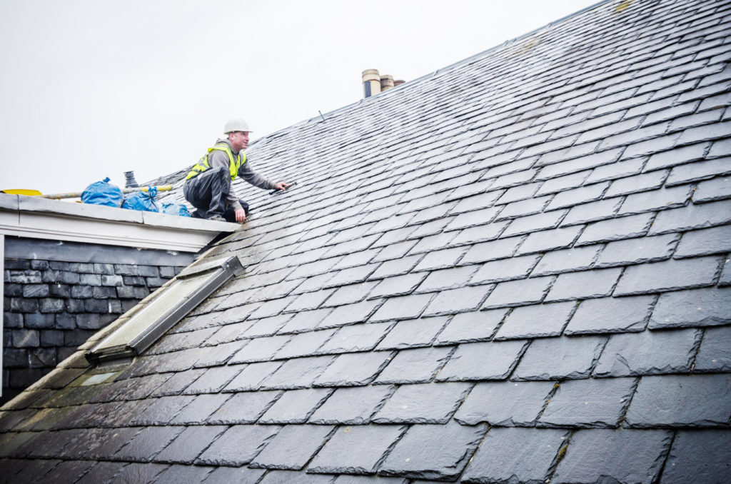 Slate Roofing In Edinburgh